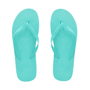 Tiffany Blue Flip Flops (Case of 48 Pairs)