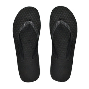 Black Flip Flops (Case of 48 Pairs)