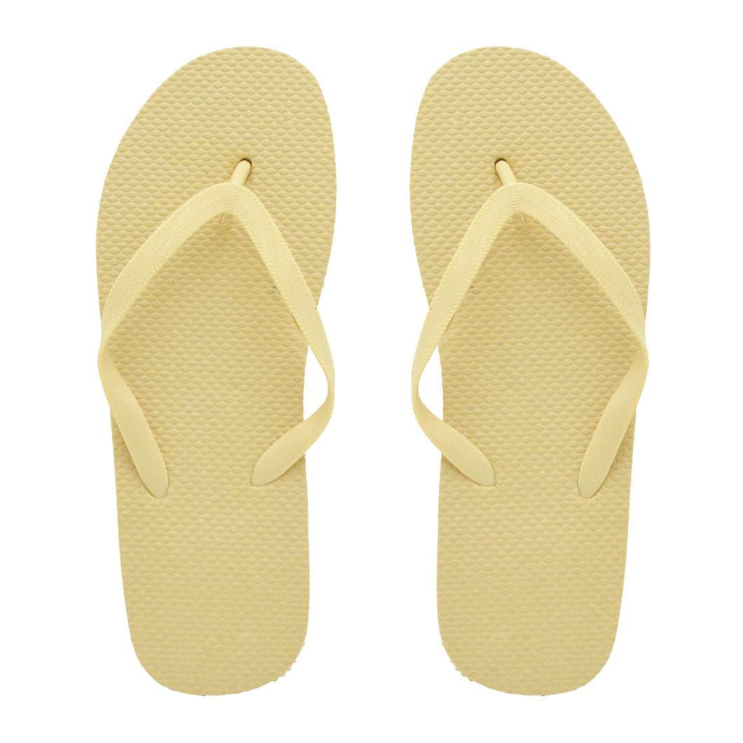 Gold Flip Flops (Case of 48 Pairs)