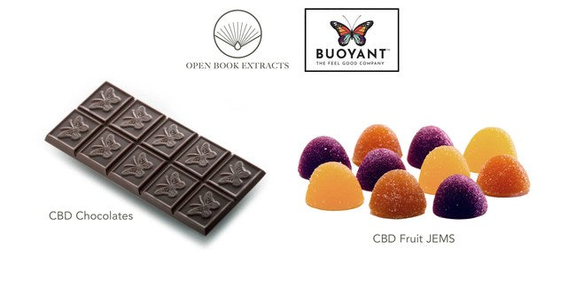 Open Book Extracts and Buoyant Brands Partner to Produce High-Quality CBD Confectionery Products