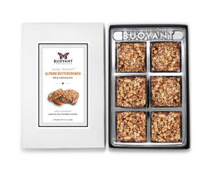 Almond Buttercrunch - Milk Chocolate Squares