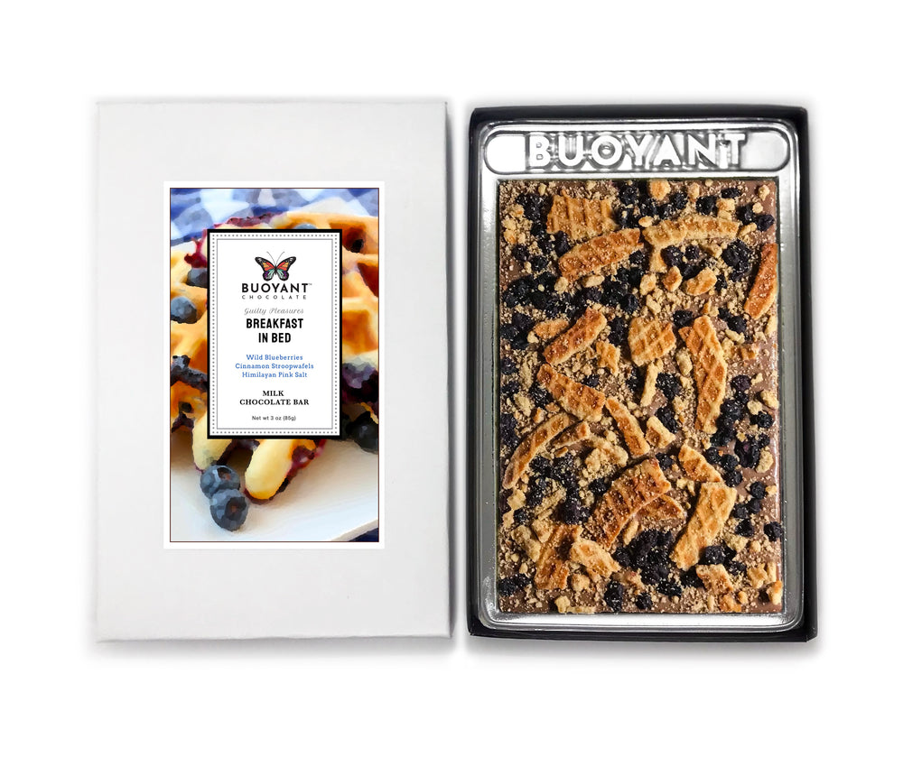 BREAKFAST IN BED - An Artisan Chocolate Bar