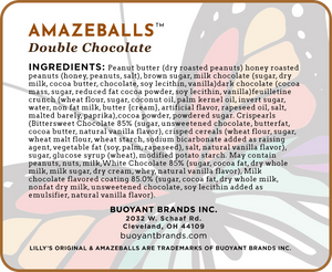 Lilly's Original AMAZEBALLS - Double Chocolate (Non-Infused)
