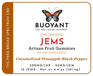 JEMS (Infused, Artisan Fruit Gummies)