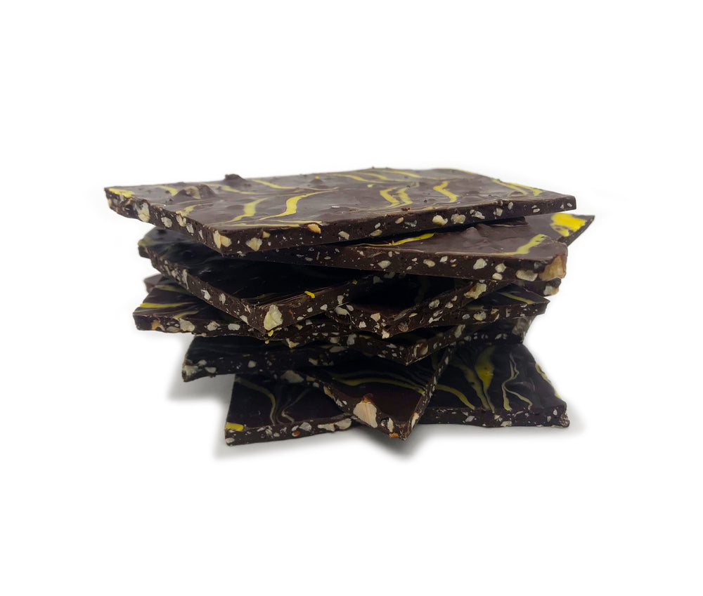 BLACKBERRY MANGO CRUNCH BARK (Non-Infused)
