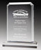 Clear Acrylic Alpine Rectangle Plate Top & Base Award