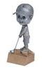 Resin Bobblehead Female Golf Trophy