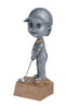 Resin Bobblehead Male Golf Trophy