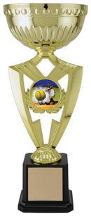 Plastic and Metal Gold Victory Cup