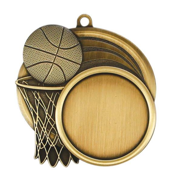 Sport Basketball Medal