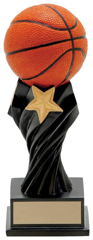 Resin Tempest Basketball Trophy