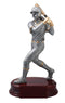 Resin Female Softball Player Trophy