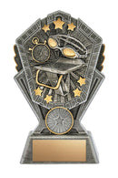 Resin Cosmos Swimming Trophy
