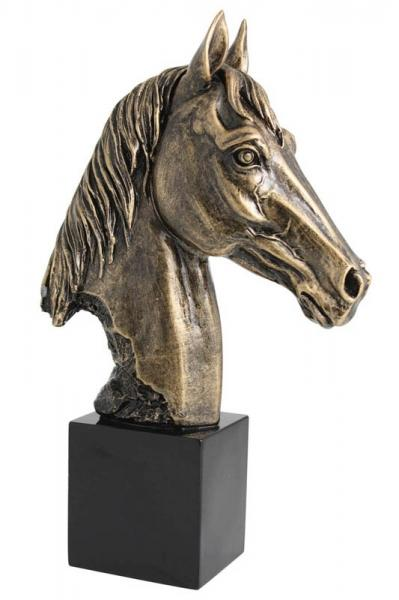 Resin Horse Head Trophy