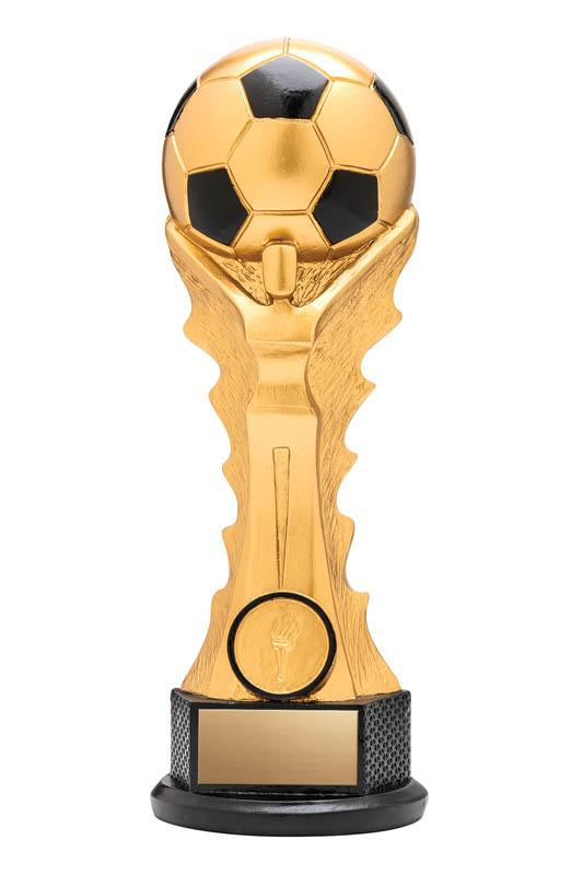 Resin Victory Soccer Trophy