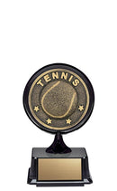 Resin Apex Mini Tennis Trophy