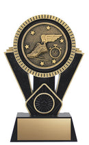 Resin Black Gold Apex Track Trophy