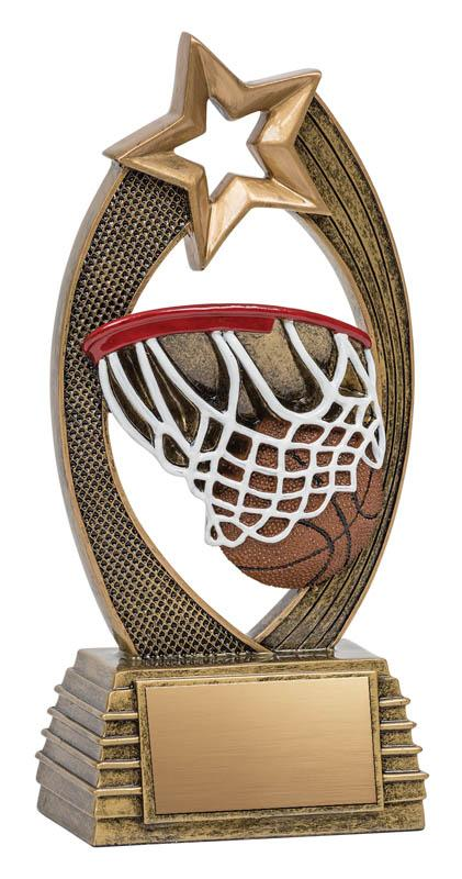 Resin Velocity Basketball Trophy