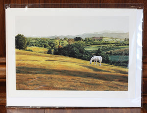"Greeting Card - ""Summer Evening on Glen Avon Farm"""