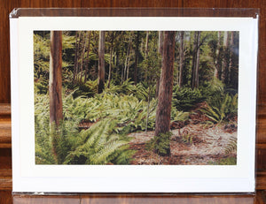 "Greeting Card - ""Forest Trail"""