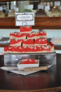 Candy Cane Fudge (gf)
