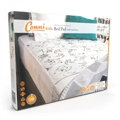Conni Kids Reusable Bed Pad with Tuck-ins - Aussie Animals