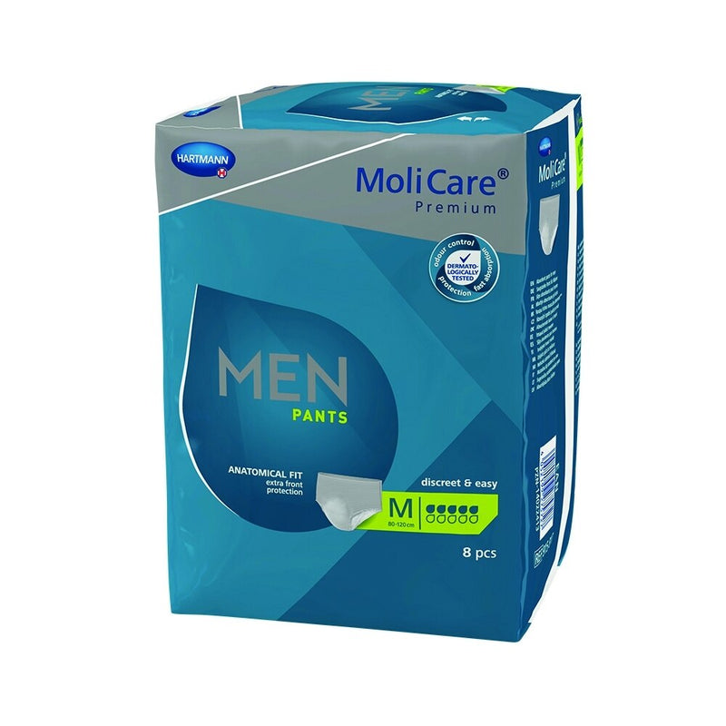 MoliCare Premium Men Pants Medium Size, 5 Drops - Carton