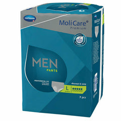 MoliCare Premium Men Pants Large Size, 5 Drops - Carton