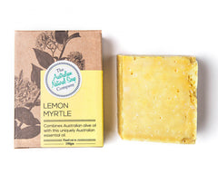 Boxed Natural Solid Soap - Lemon Myrtle