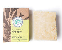 Boxed Natural Solid Soap - All Australian Tea Tree