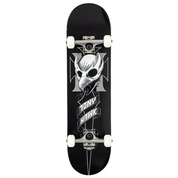 "Birdhouse Skateboards Skateboard completo Hawk Crest 8.0"" black - Downtown skateshop online"