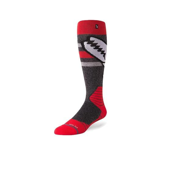 Stance Calze Calze Crab Grab Snow red
