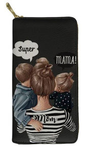 """Super Mom"" Geldbörse"