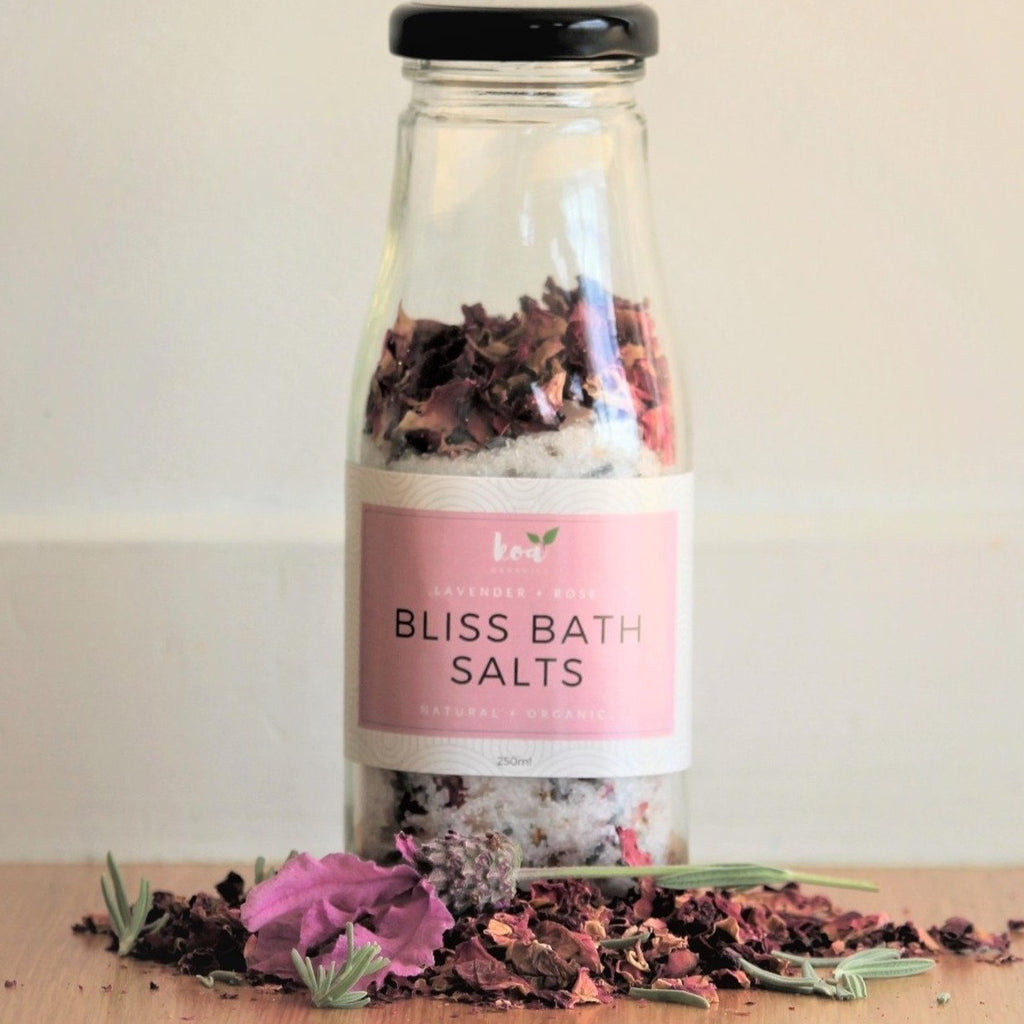 Koa Organics Bliss Bath Salts - Lavender and Rose
