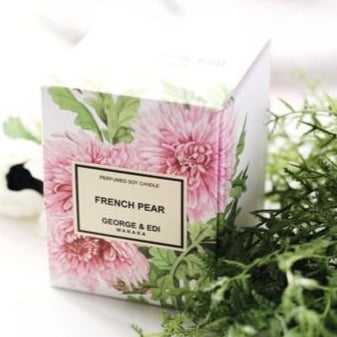 George & Edi Candle French Pear