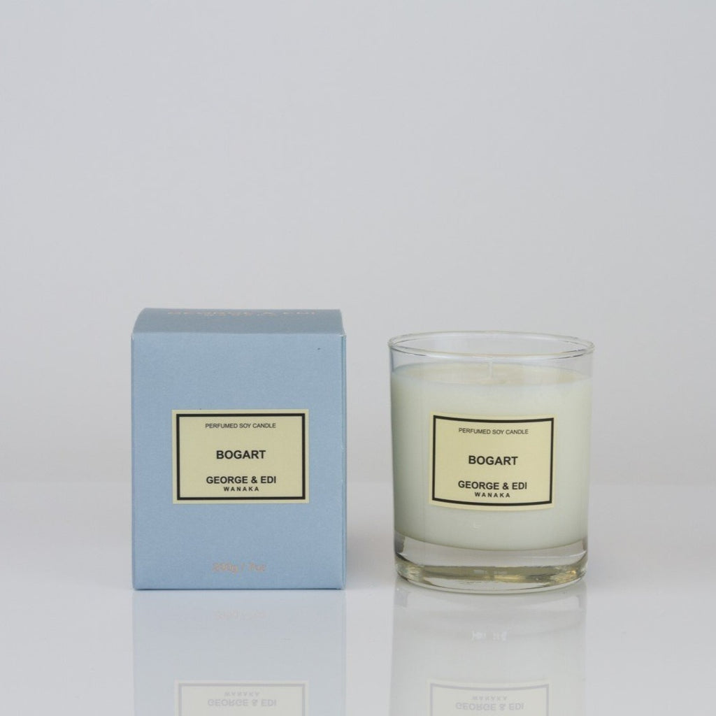 George & Edi candle bogart fragrance NZ candle maker soy wax handpoured