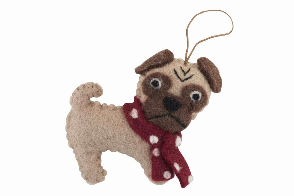 handmade-christmas-tree-decorations-nz-pug
