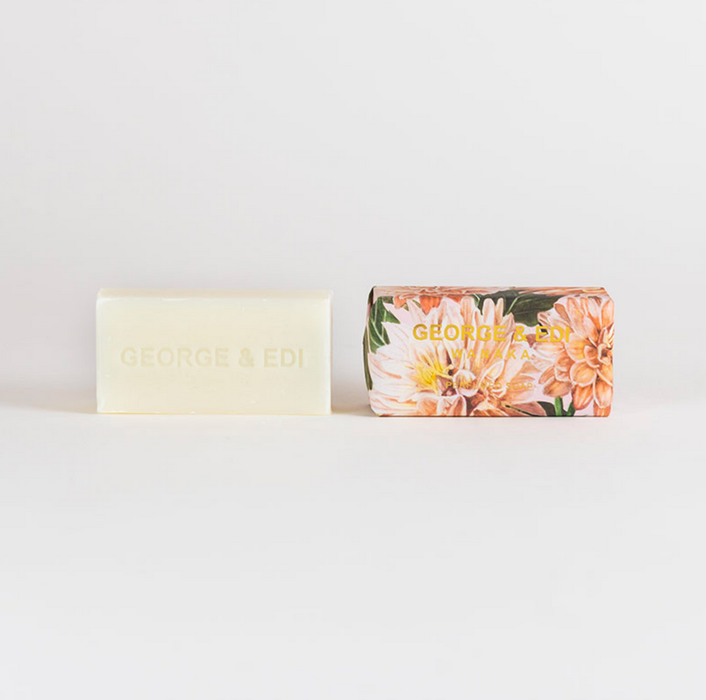 george & edi triple milled soap in bloom nz