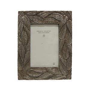 Lucia Palm Photo Frame Silver 4 x 6