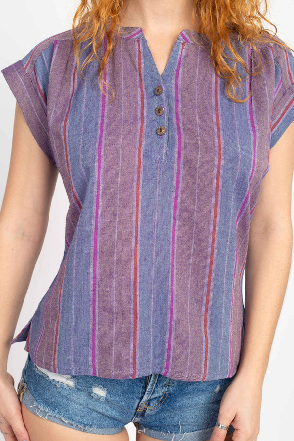 Stripe Vintage Blouse