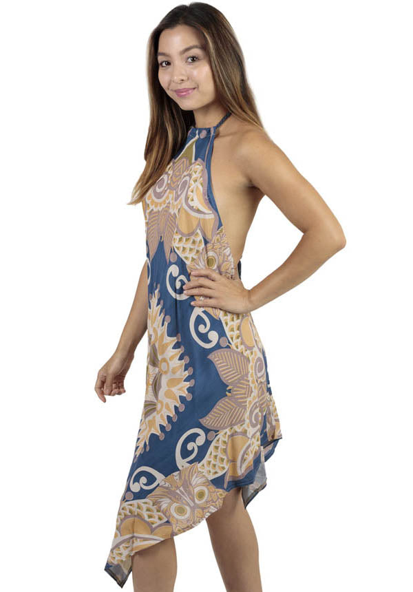 Spirit Owl Halter Dress