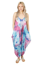 Tie-Dye Tulip Dress