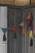Knitted Garland Decoration-Multi