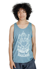 Ganesha for Wisdom Cotton Tank