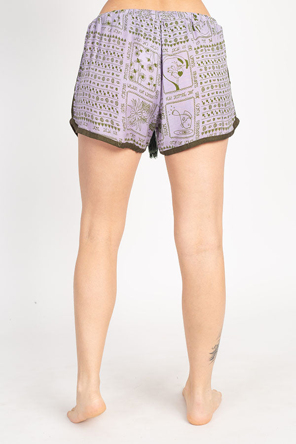 Boho Daydreams Summer Women's Lounge Shorts