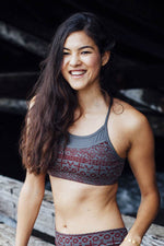 Aztec Sunrise Yoga Bra