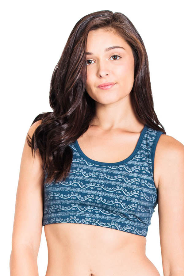Om Be With You Sports Bra