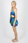 Dream Believer Tie-Dye Skirted Shorts
