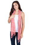 Women's Light Soft Om Printed Summer Scarf