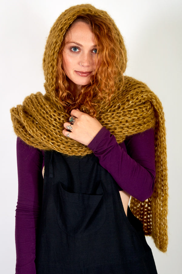Forest Fairy Hooded Scarf